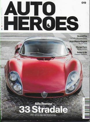 Auto Heroes Magazine - Issue No.19 (Featured Alfa Romeo 33 Stradale)