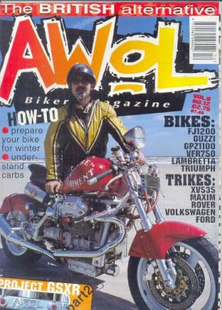 Awol Magazine - Issue Vol.6-No.12 (1 copy only slightly damaged front cover)