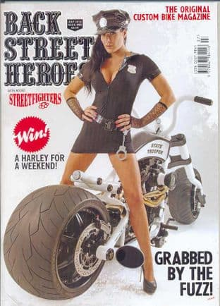 Back Street Heroes Magazine - Issue No 363 / Jul.14