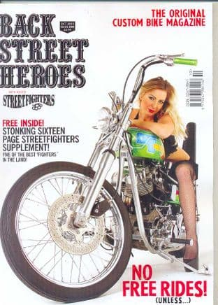 Back Street Heroes Magazine - Issue No 366 / Oct.14