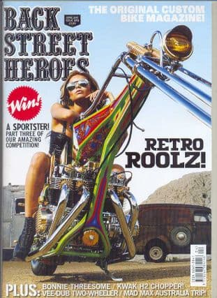 Back Street Heroes Magazine - Issue No 372 / Apr.15