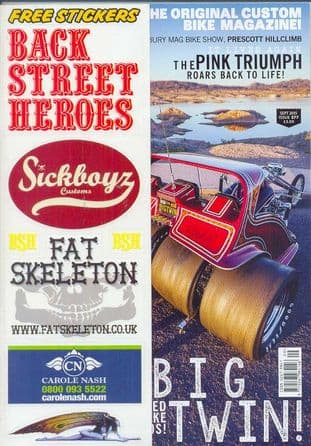 Back Street Heroes Magazine - Issue No 377 / Sep.15