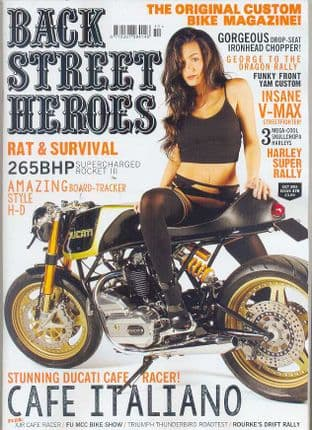 Back Street Heroes Magazine - Issue No 378 / Oct.15