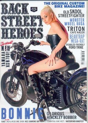 Back Street Heroes Magazine - Issue No 381 / Jan.16