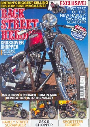 Back Street Heroes Magazine - Issue No 387 / Jul.16