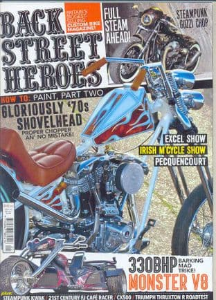 Back Street Heroes Magazine - Issue No 397 / May 2017