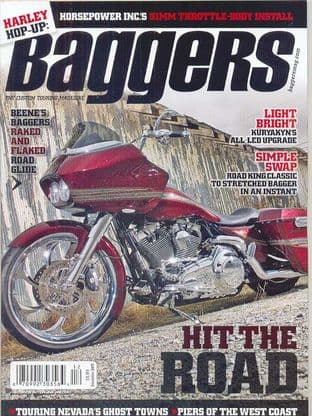 Baggers By Hot Bike Magazine - Issue 2011-12 December 2011