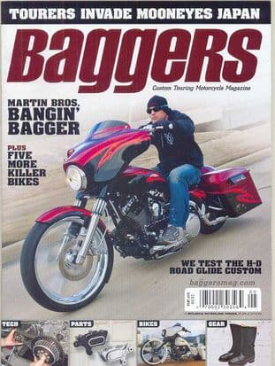 Baggers By Hot Bike Magazine - Issue 2012-05 May 2012