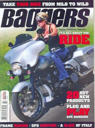Baggers By Hot Bike Magazine - Issue 2012-07 July 2012