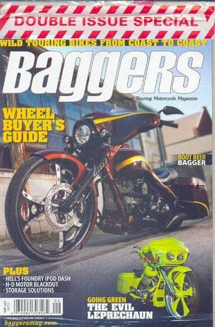 Baggers By Hot Bike Magazine - Issue 2012-09 September 2012