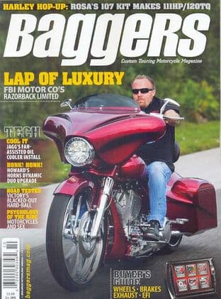 Baggers By Hot Bike Magazine - Issue 2012-10 October 2012