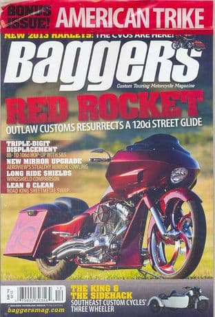 Baggers By Hot Bike Magazine - Issue 2012-12 December 2012