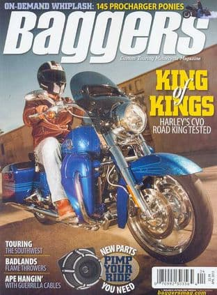 Baggers By Hot Bike Magazine - Issue 2013-04 April 2013