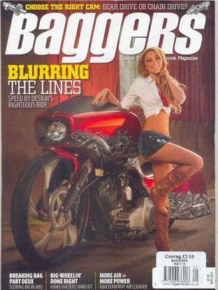 Baggers By Hot Bike Magazine - Issue 2013-05 May 2013