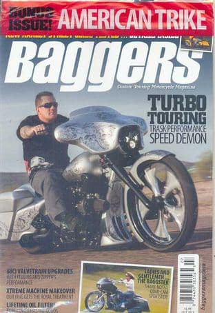 Baggers By Hot Bike Magazine - Issue 2013-07 July 2013