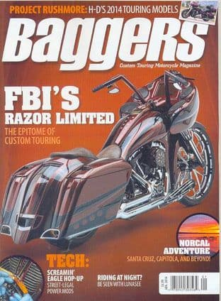Baggers By Hot Bike Magazine - Issue 2014-01 January 2014