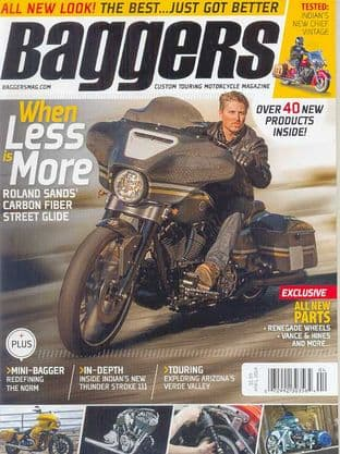 Baggers By Hot Bike Magazine - Issue 2014-04 April 2014