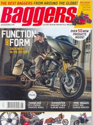 Baggers By Hot Bike Magazine - Issue 2014-05 May 2014