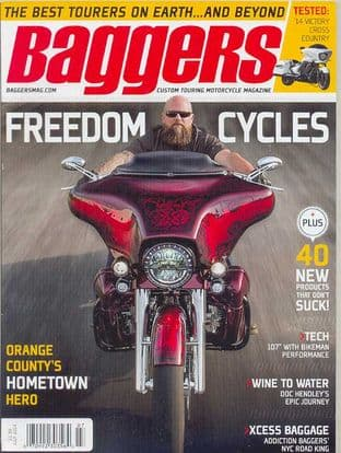Baggers By Hot Bike Magazine - Issue 2014-07 July 2014
