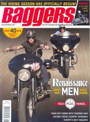 Baggers By Hot Bike Magazine - Issue 2014-08 August 2014