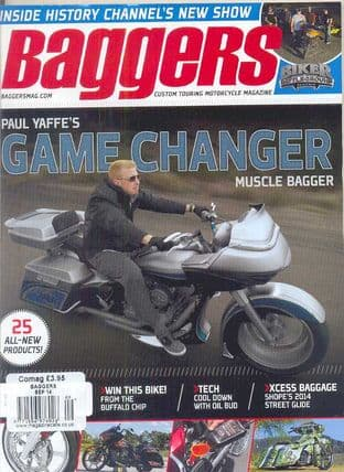 Baggers By Hot Bike Magazine - Issue 2014-09 September 2014