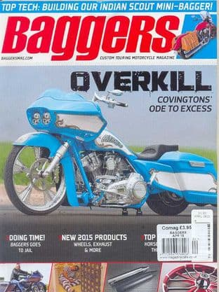 Baggers By Hot Bike Magazine - Issue 2015-04 April 2015