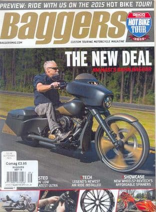 Baggers By Hot Bike Magazine - Issue 2015-09 September 2015
