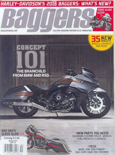 Baggers By Hot Bike Magazine - Issue 2015-12 December 2015
