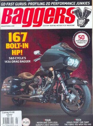 Baggers By Hot Bike Magazine - Issue 2016-05 May 2016
