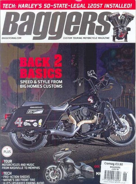 Baggers By Hot Bike Magazine - Issue 2016-06 June 2016