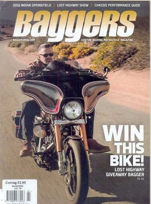 Baggers By Hot Bike Magazine - Issue 2016-07 July 2016