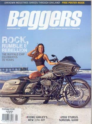 Baggers By Hot Bike Magazine - Issue 2016-08 August 2016