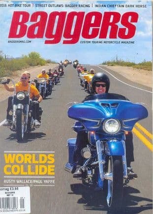 Baggers By Hot Bike Magazine - Issue 2016-09 September 2016