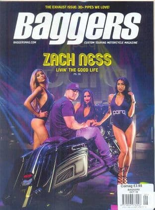 Baggers By Hot Bike Magazine - Issue 2016-10 October 2016