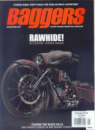 Baggers By Hot Bike Magazine - Issue 2017-08 August 2017