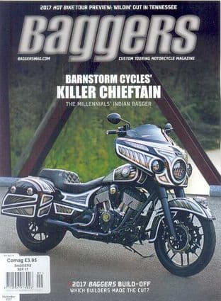 Baggers By Hot Bike Magazine - Issue 2017-09 September 2017
