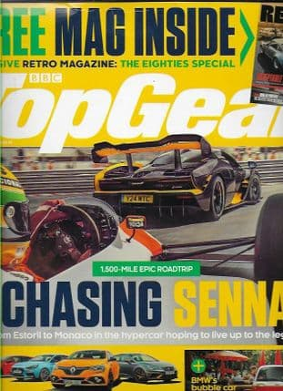 BBC Top Gear  Magazine - Back Issue August 2018