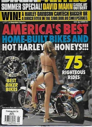 Biker USA Magazine - Issue Summer 2014(Biker Parties)