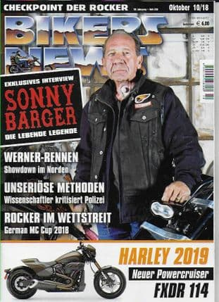 Bikers News Magazine - Issue 2018-10 October 2018