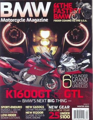 BMW Motorcycle Magazine - No.09 / Winter 2010