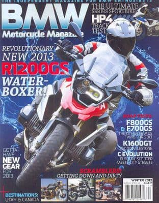 BMW Motorcycle Magazine - No.17 / Winter 2012