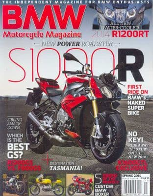 BMW Motorcycle Magazine - No.22 / Spring 2014