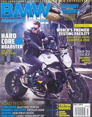BMW Motorcycle Magazine - No.24 / Fall 2014