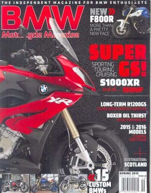 BMW Motorcycle Magazine - No.26 / Spring 2015