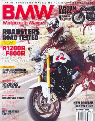 BMW Motorcycle Magazine - No.27 / Summer 2015
