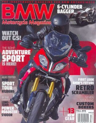 BMW Motorcycle Magazine - No.28 / Autumn 2015