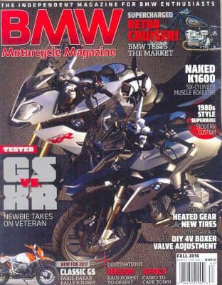 BMW Motorcycle Magazine - No.32 / Fall 2016