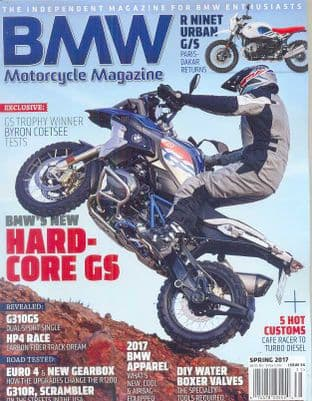 BMW Motorcycle Magazine - No.34 / Spring 2017