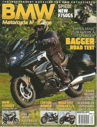 BMW Motorcycle Magazine - No.37 / Winter 2017