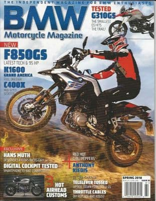 BMW Motorcycle Magazine - No.38 / Spring 2018